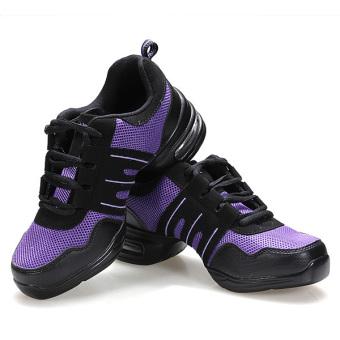 Fashion Comfy Modern Jazz Hip Hop Dance Shoes Women Breathable Sneakers 7 Colors - 4