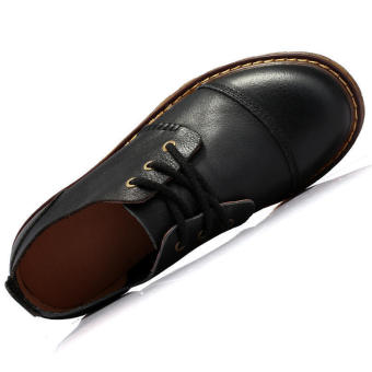 Fashion Formal Durable Leather Shoes (Black) - picture 2