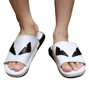 Fashion Little Monster Flip-Flops-White - picture 2