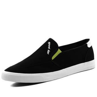 Fashion Men Flat Loafers (Black)