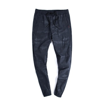 Fashion Men's Camo Army Color Casual Jogger Long Pants-DarkBlue(CN858) - intl - 2