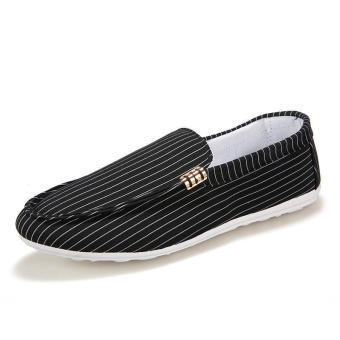 Fashion New Canvas Loafers (Black) - picture 2