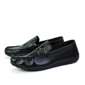 Fashion New Flat Loafers - Black - picture 4