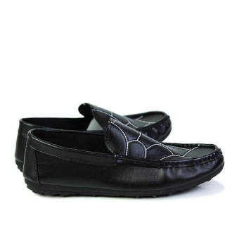 Fashion New Flat Loafers - Black