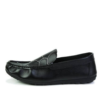 Fashion New Flat Loafers - Black - picture 3