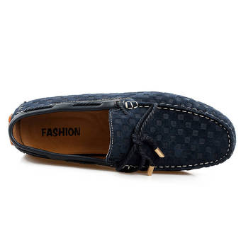 Fashion New Soft Men Loafers (Blue) - picture 2
