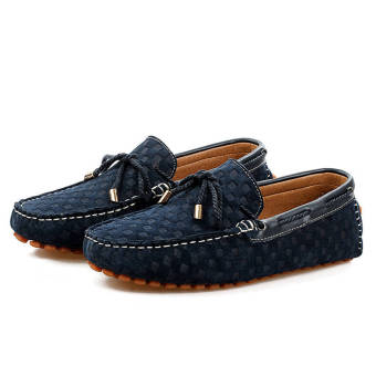Fashion New Soft Men Loafers (Blue) - picture 3
