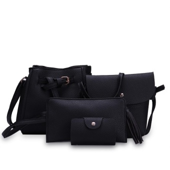 Fashion Trend 4 in 1 Bag Set BBWJH0021 (Black) Price Philippines
