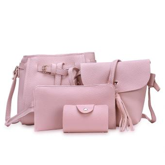Fashion Trend 4 in 1 Bag Set BBWJH0021 (Pink) Price Philippines