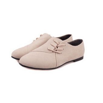 Fashion Womens Classics Casual Shoes Oxfords Loafers Sneaker Low Flats Heeled - 4