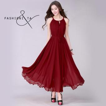 Fashionista | Hana Casual & Elegant Women's Fashionable ChiffonKorean Dress Price Philippines