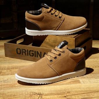Fashionistas men comfortable casual shoes Brown - intl - 2