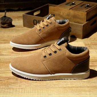 Fashionistas men comfortable casual shoes Brown - intl - 3