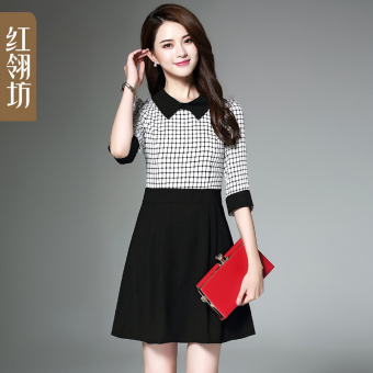 Female mid-length spring New style skirt dress