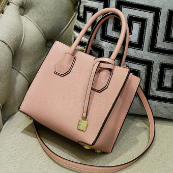 Female New style Korean-style women's bag small bag (Pink)