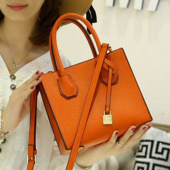 Female New style Korean-style women's bag small bag (Shishang orange)