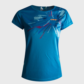 Female running round neck quick-drying Top Sports Short sleeved t-shirt