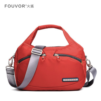 Female shoulder bag New style hand bag (Chestnut Hong)