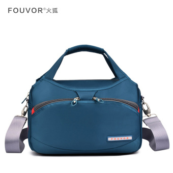 Female shoulder bag New style hand bag (Turquoise Blue)