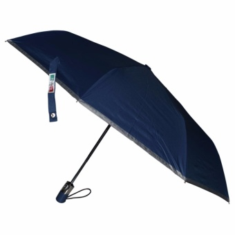 Fibrella Umbrella F00409 Automatic with UV Protection(Navy Blue)