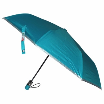 Fibrella Umbrella F00409 Automatic with UV Protection(Turquoise)