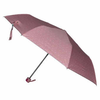 Fibrella Umbrella F00412 with UV Block Plus (Pink With Flower Design)