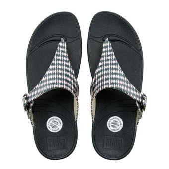 Fitflop Women's Superjelly Weave Slippers (Dusty Lilac) - 4