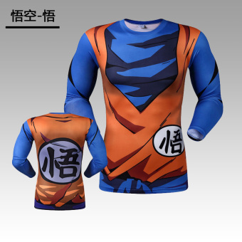 Fitness clothes running training quick drying clothes T-shirt (Wu Kong-Wu) (Wu Kong-Wu)
