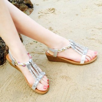 Flat Sandals for Women's Fashion casual wild shoes - intl - 2
