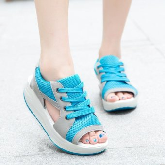 Flat Sandals for Women's Fashion casual wild shoes - intl