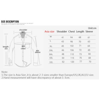 Flax Long Sleeve Shirt Men Chinese Style Retro Stand Collar Linen Shirts(White) - intl - 2