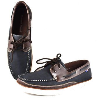 Florence Casual Top Sider Men's Shoes 6179 (BlueCoffee)