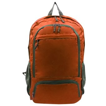 Foldable Stylish Travelling Backpack (Orange)