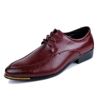Formal Business Shoes - Red