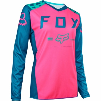 Fortress Cycling Mountain Bike Long Sleeve Jersey (FOXMTB#53) - 2
