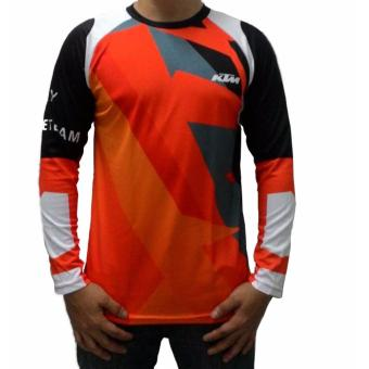 Fortress Cycling Mountain Bike Long Sleeve Jersey (KTMMTB#3)