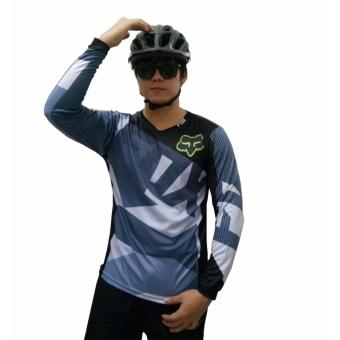 Fortress Cycling Mountain Bike Motocross Motorcycle/MTB Long SleeveJersey (FOXMTB#47)
