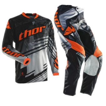 Fortress Motocross Downhill MTB Long Sleeve Long Pants Set Racing OEM (MX#9)