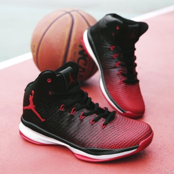Four seasons basketball shoes outdoor sport shoes couple basketball shoes - intl