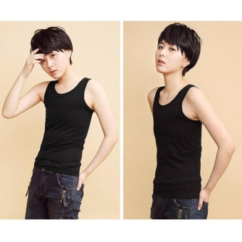 FRD Chest Binder Flat Slim Vest Tomboy Cosplay 5Xl Les Breast Corsetcotton Long Camisoles - intl FRD