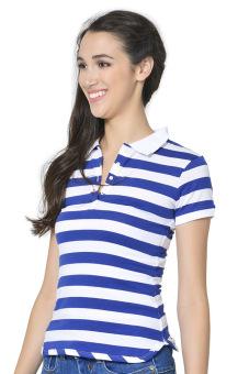 Freshgear Women's Polo Tees (Skipper Blue) - picture 2