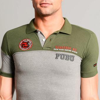 Fubu Muscle Fit Polo Shirt FBT05B-092 (Fatigue) - 5