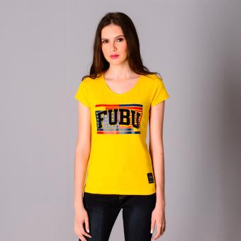 Fubu Queens Blouses FGT20-100 (Slate Yellow)