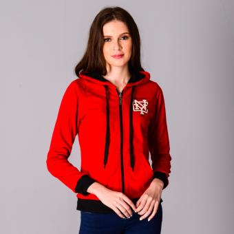 Fubu Queens Hoodie FGT16-005 (Red/Black)