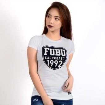 Fubu Queens QGT03-0004 Round Neck T-Shirt (White)