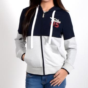 Fubu Queens QGT15-0001 Jacket With Hood (N.Blue)