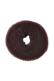 Functional Synthetic Fiber Hair Bun (Dark brown)