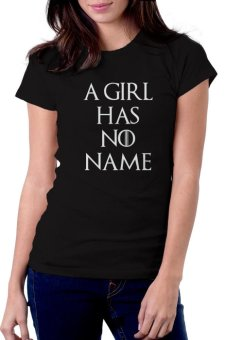 Game of Thrones T-Shirt for Women - A Girl (Black)