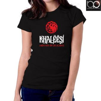 Game of Thrones T-shirt for Women (Black) - Khaleesi