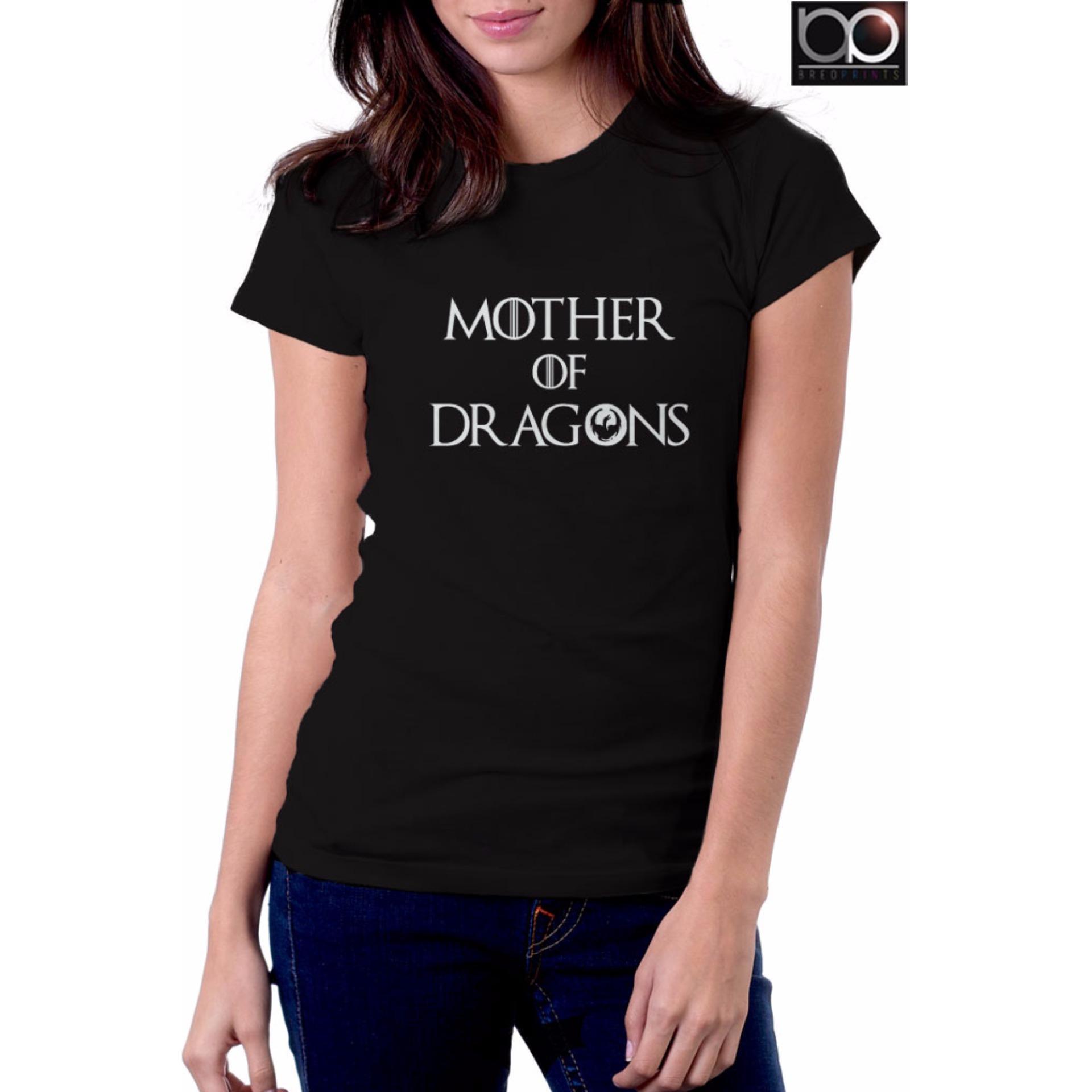 Game of Thrones T-shirt for Women - House Targaryen (Black ...